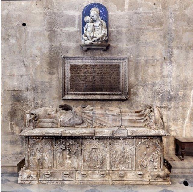 Sepulcro del arzobispo Gonzalo de Mena y Vargas