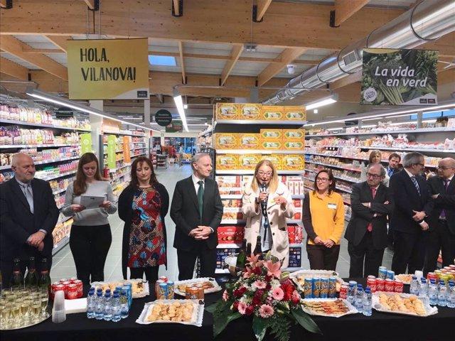 Supermercado Bonpreu en Vilanova del Vallès