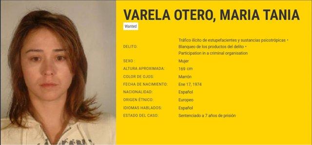 La narcotraficante Tania Varela