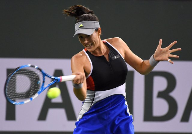 Garbiñe Muguruza Indian Wells