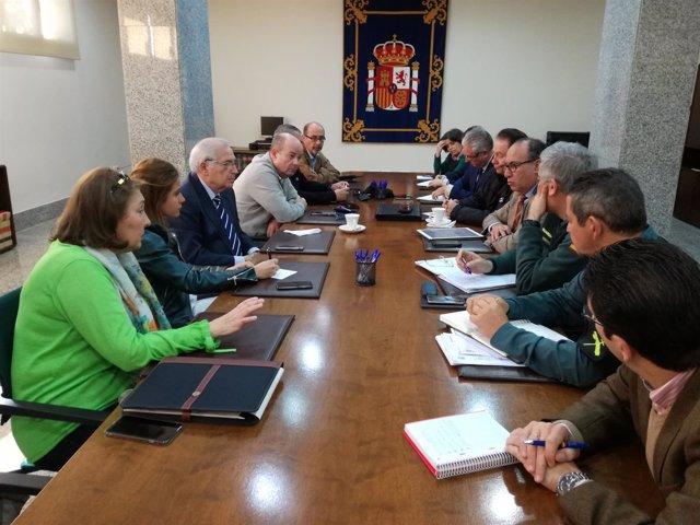 Reunión de la comisión contra el fraude de Melilla
