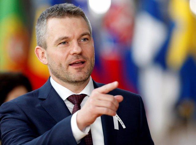 El primer ministro eslovaco, Peter Pellegrini