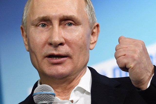 Vladimir Putin, presidente de Rusia