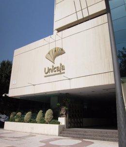 Sede de Unicaja en Málaga
