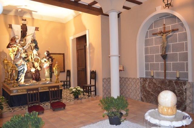 Dosel de Semana Santa en Alzira