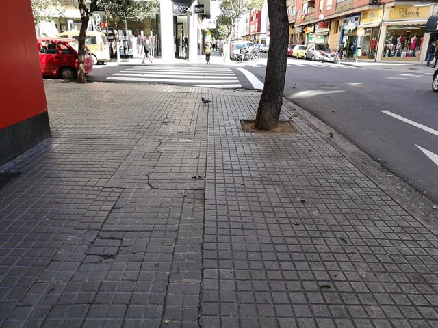 Calle Doctor Irnazo, en Las Fuentes