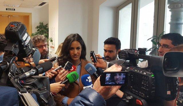 Begoña Villacís, portavoz de Cs en el Ayuntamiento de Madrid