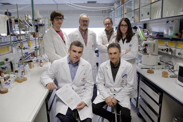 Investigadores UR del proyecto sobre cáncer de próstata