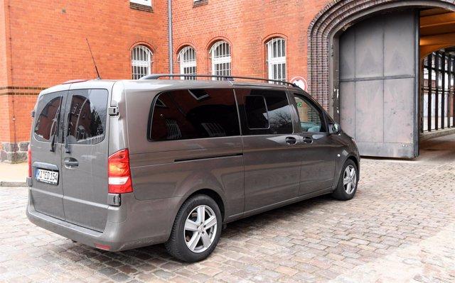 Puigdemont entra en coche en la cárcel en Alemania