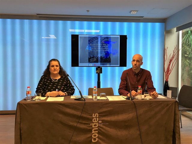 Rosa Serrano Y Alfred Hidalgo, De La Federació Catalana D'autisme