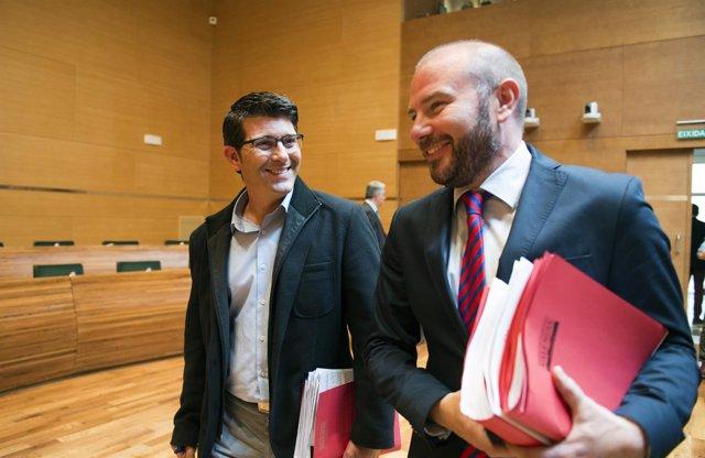 Jorge Rodríguez y Toni Gaspar