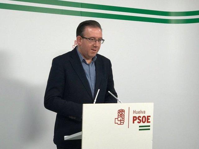 Manuel Guerra, senador del PSOE por Huelva.