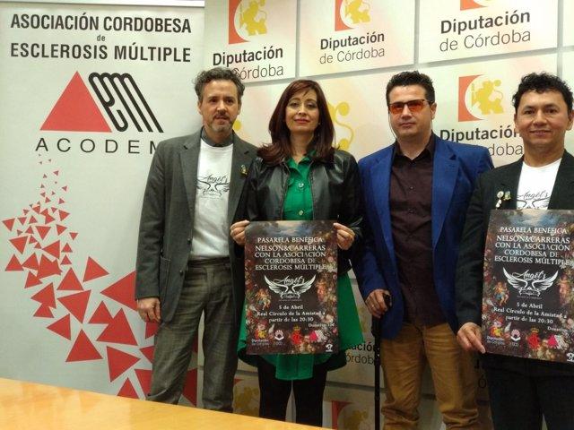 Cañete presenta el desfile organizado por Acodem