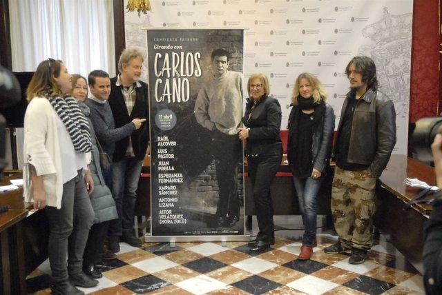 Presentación del espectáculo 'Girando con Carlos Cano'