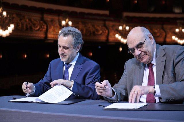 Salvador Alemany y Josep Pons