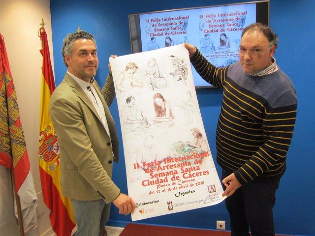 Presentación II Feria Internacional de Artesanía de Cáceres