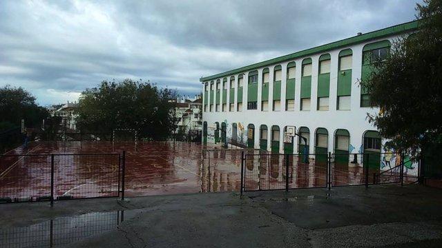 Nota Educación Mejoras Ceip J. Banús Marbella