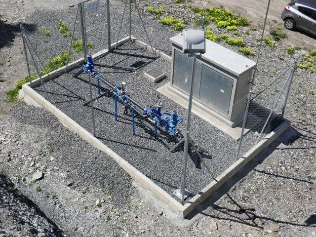 El Sondeo de 'Los Perichos' ya está conectado a la red de aguas de Vícar.