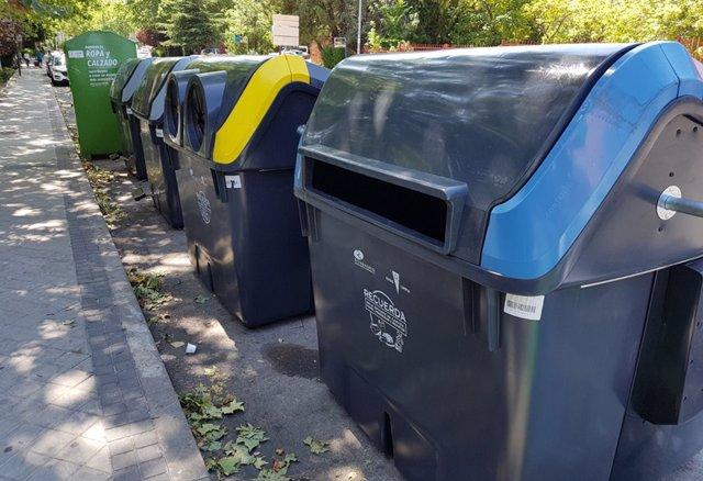 Contenedores de reciclaje Rivas