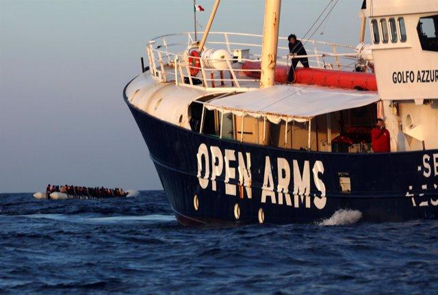 Barco de la ONG Proactiva Open Arms