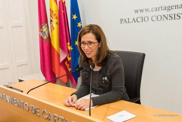 Ana Belén Castejón, alcaldesa de Cartagena