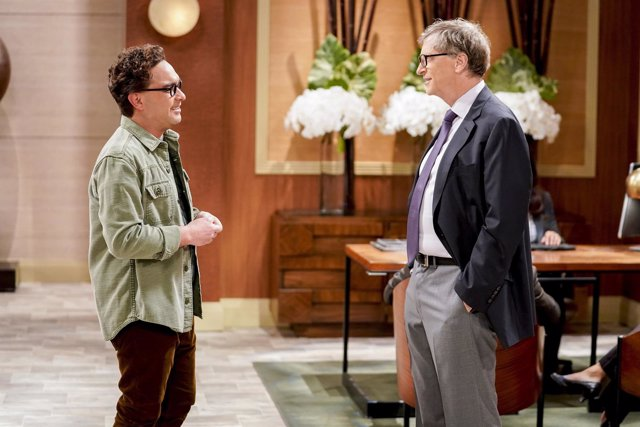 El Cameo De Bill Gates En The Big Bang Theory