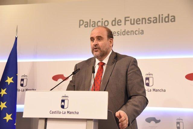 Martínez Guijaro en rueda de prensa