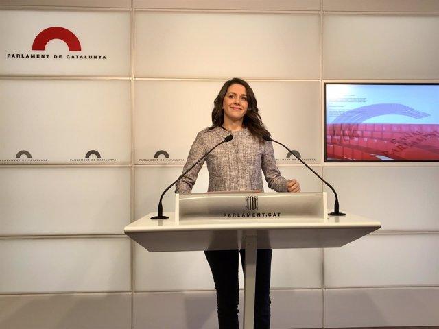 Inés Arrimadas (Cs) en una foto de archivo