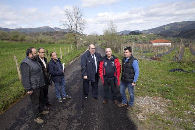 Inauguración del nuevo camino de acceso a la ermita de La Piedad