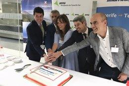 Inauguración del vuelo Tenerife-Tel Aviv