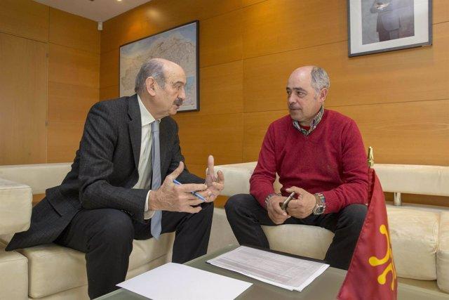 Mazón se reúne con el alcalde de Arenas de Iguña