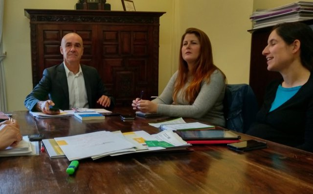 Antonio Muñoz y Susana Serrano