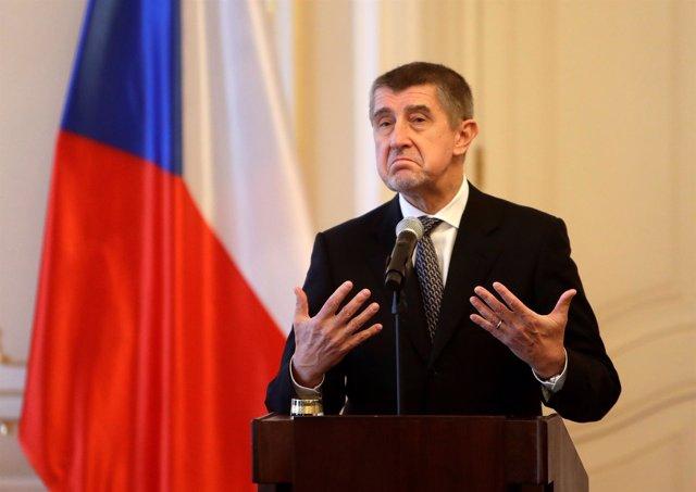 El primer ministro de República Checa, Andrej Babis