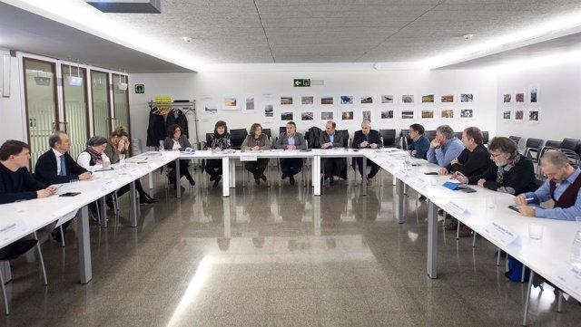 Ayerdi, Laparra y Elizalde en la reunión del Consejo de Política Territorial