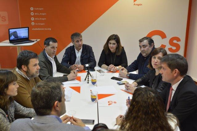 Comité Autonómico de Cs en Aragón