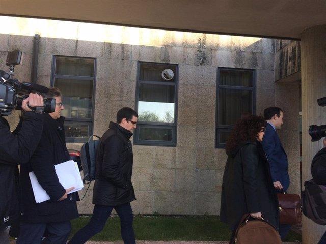 Cargos Sergas juzgados de Santiago