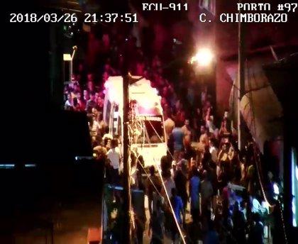 Un atropello masivo deja al menos 25 heridos en Ecuador