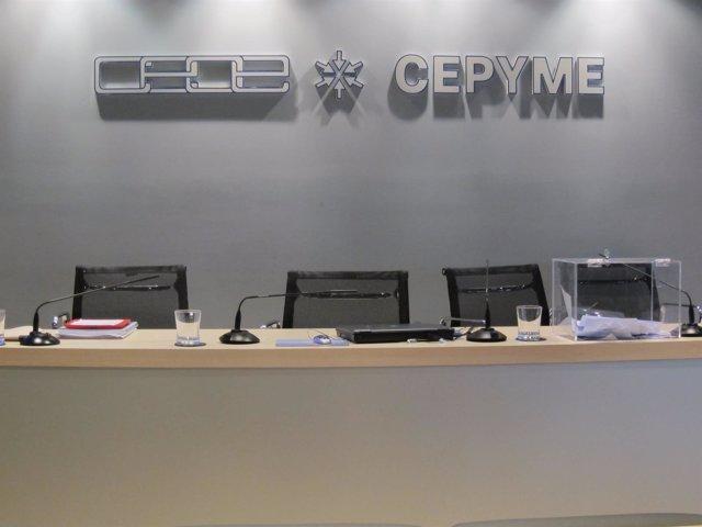 CEOE-Cepyme Cantabria. Patronal.