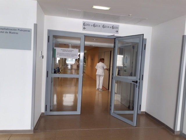 Área materno-infantil del Hospital del Campus de la Salud de Granada