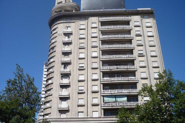 Edificio en Santiago de Chile
