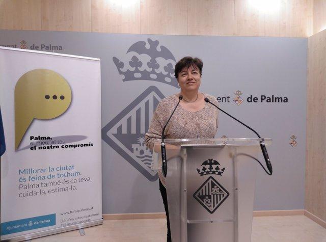 Susanna Moll, Ayuntamiento de Palma