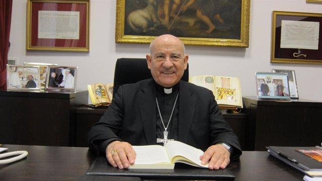 El arzobispo de Zaragoza, monseñor Vicente Jiménez Zamora