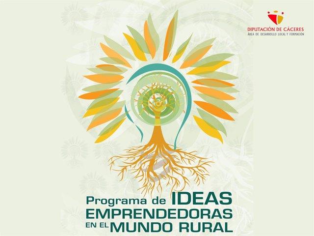 Programa de Ideas Emprendedoras de la Diputación de Cáceres