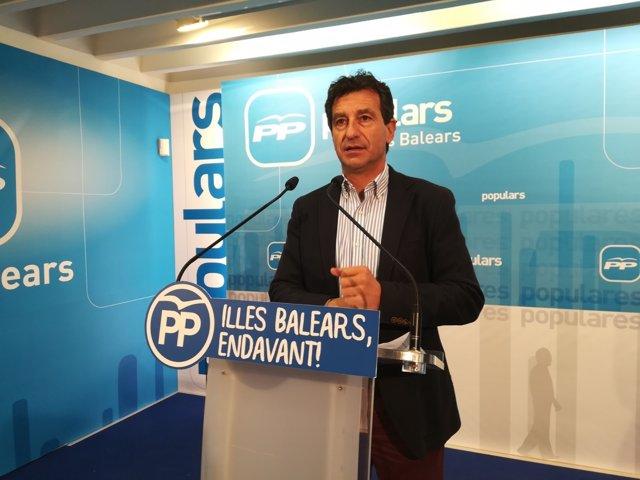 Biel Company, líder del PP en Baleares