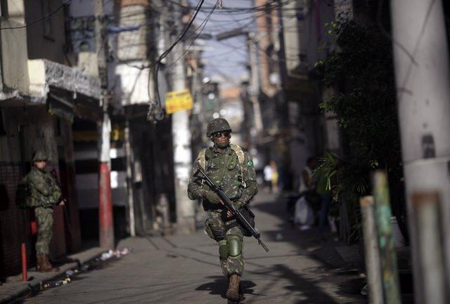 El Complejo de Maré, una de las mayores favelas de Río de Janeiro