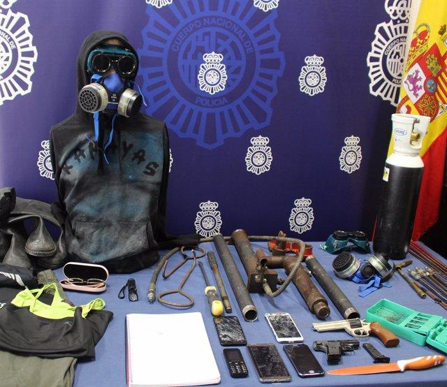 La Policía desarticula un grupo criminal que robó en un banco