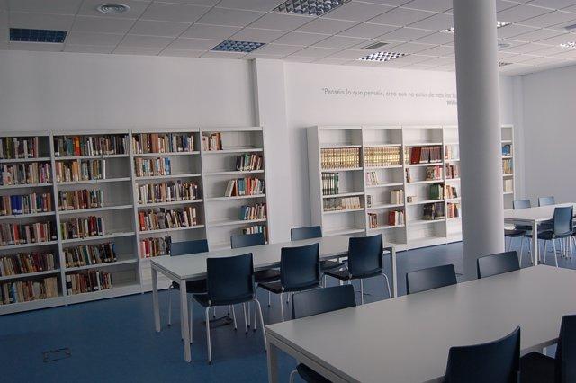 Biblioteca municipal de Vejer
