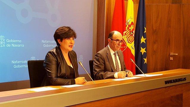 María Solana y Manu Ayerdi.