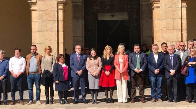 Minuto de silencio en Castellón