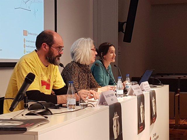 Daniel Pardo, Ana Menéndez y Maria Garcia